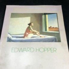 Arte: EDWARD HOPPER. FUNDACIÓN JUAN MARCH, MADRID 1989. Lote 269245128