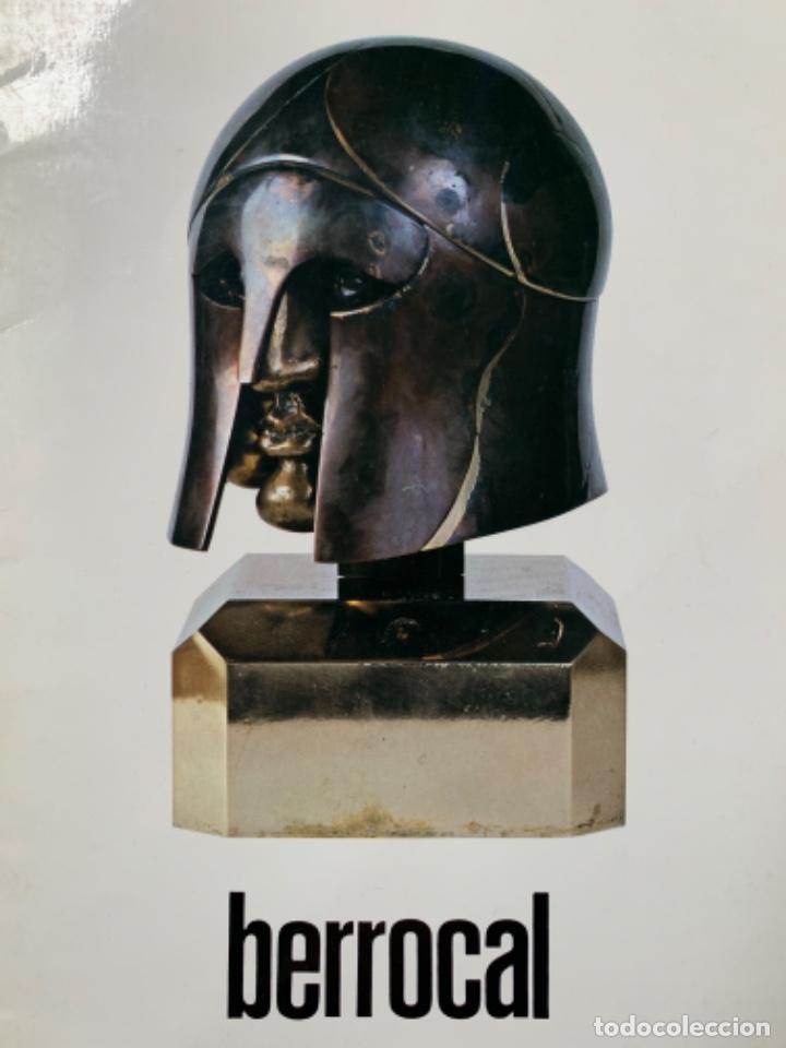 CATÁLOGO HOPLITA MIGUEL BERROCAL 81-82 EJEMPLAR 201 DE 500, DEDICADO Y FIRMADO (Arte - Catálogos)