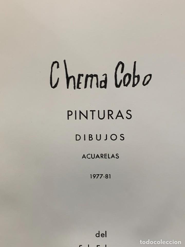 Arte: CHEMA COBO PINTURAS DIBUJOS ACURELAS 1977-81 MADRID 1981 30X21CMS - Foto 4 - 274243128