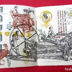 Arte: CATALOGO - FILOGRAF - ARTE GRÁFICO - 1953. Lote 275231553