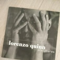 Art: SCULPTURES - CATALOGO LORENZO QUINN. Lote 276808228