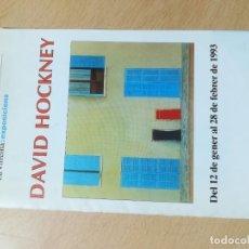 Arte: DAVID HOCKNEY / LA VIRREINA 1993 / BARCELONA / AJ27. Lote 278403543