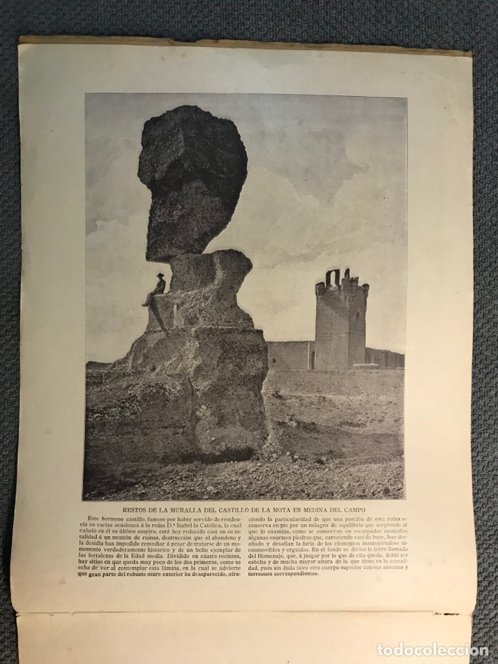 Arte: Panorama Nacional Bellezas de España y sus Colonias, No.15, H. Miralles, Barcelona (h.1890?) Des… - Foto 3 - 278687018