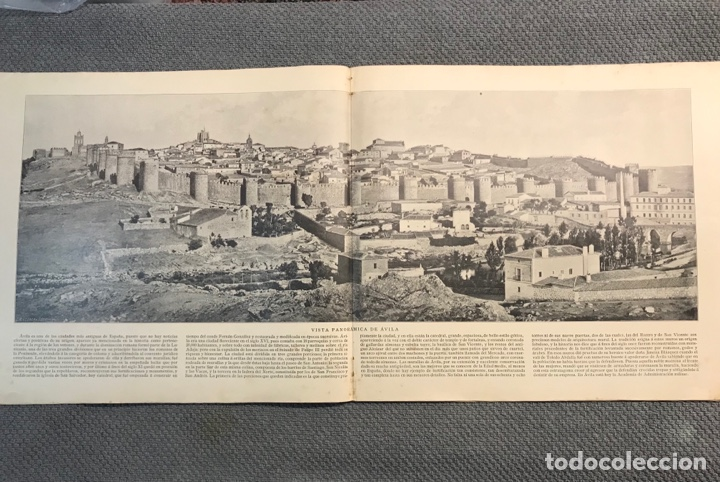 Arte: Panorama Nacional Bellezas de España y sus Colonias, No.15, H. Miralles, Barcelona (h.1890?) Des… - Foto 5 - 278687018
