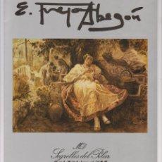 Arte: FOLLETO TRÍPTICO DE EXPOSICIÓN. EMILIO FREJO ABEGÓN. GALERÍA SEGRELLES DEL PILAR.1989. Lote 283057543