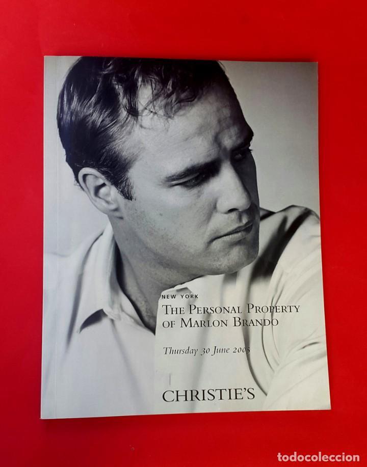 MARLON BRANDO - AUCTION - SUBASTA - CHRISTIE'S - 2005 (Arte - Catálogos)