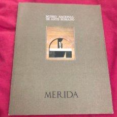 Arte: LIBRO CATALOGO MUSEO NACIONAL DE ARTE ROMANO MERIDA ARTISTAS MUSEOS OBRAS DE ARTE PINTURA ESCULTURA. Lote 288183433