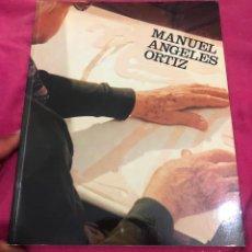 Arte: LIBRO CATALOGO MANUEL ÁNGELES ORTIZ EXPOSICIÓN HOMENAJE MADRID MINISTERIO DE CULTURA 1980 ARTISTA. Lote 288184393