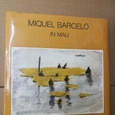 Arte: MIQUEL BARCELÓ IN MALI -ED BISCHOFBERGER 1989 . 30X27 CM. TAPA DURA SOBRECUBIERTA ILUSTRADA .FRANCÉS. Lote 288910933