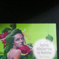 Arte: TEATROS FABULONIRICOS EN FEMININO NOA PERSAN. Lote 292534053