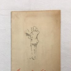 Arte: FERNANDO CABRERA CANTÓ. CATÁLOGO COMPLETO DE SUS OBRAS MÁS DESTACADAS. BARCELONA. C.1940. Lote 293929973
