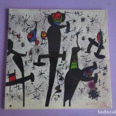 Arte: CATÁLOGO EXPO, JOAN MIRÓ LITÓGRAFO , FUNDACIÓ LA CAIXA, PRECINTADO. Lote 294865488