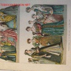 Arte: ALBERT KRETSCHMER LITOGRAFIA DE 1882 COSTUMES OF ALL NATIONS. Lote 1029460
