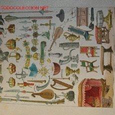 Arte: ALBERT KRETSCHMER LITOGRAFIA DE 1882 COSTUMES OF ALL NATIONS. Lote 1029467