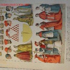 Arte: ALBERT KRETSCHMER LITOGRAFIA DE 1882 COSTUMES OF ALL NATIONS. Lote 5421884