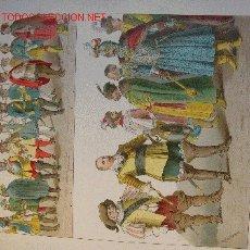 Arte: ALBERT KRETSCHMER LITOGRAFIA DE 1882 COSTUMES OF ALL NATIONS. Lote 16644971