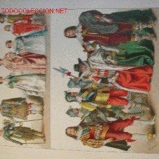 Arte: ALBERT KRETSCHMER LITOGRAFIA DE 1882 COSTUMES OF ALL NATIONS. Lote 1031356