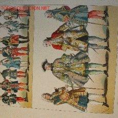 Arte: ALBERT KRETSCHMER LITOGRAFIA DE 1882 COSTUMES OF ALL NATIONS. Lote 1031950