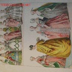 Arte: ALBERT KRETSCHMER LITOGRAFIA DE 1882 COSTUMES OF ALL NATIONS. Lote 1031961