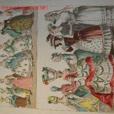 Arte: ALBERT KRETSCHMER LITOGRAFIA DE 1882 COSTUMES OF ALL NATIONS. Lote 16683999