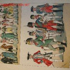 Arte: ALBERT KRETSCHMER LITOGRAFIA DE 1882 COSTUMES OF ALL NATIONS. Lote 1032032