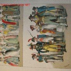 Arte: ALBERT KRETSCHMER LITOGRAFIA DE 1882 COSTUMES OF ALL NATIONS. Lote 1361612