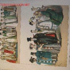 Arte: ALBERT KRETSCHMER LITOGRAFIA DE 1882 COSTUMES OF ALL NATIONS. Lote 1032077