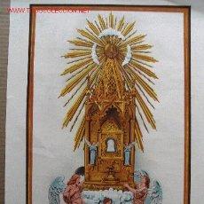 Arte: NTRA. SRA. DE LA CUEVA SANTA PATRONA DE BENIARRÉS. 1948 .. Lote 26859669