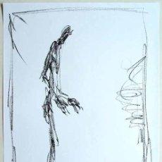 Arte: ALBERTO GIACOMETTI / HOMBRE I . CROMOLITOGRAFÍA SEGÚN UN ORIGINAL DE 1978. Lote 36155387