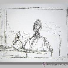 Arte: ALBERTO GIACOMETTI / BUSTOS . CROMOLITOGRAFÍA . FIRMADA Y NUMERADA 1 /30 EN LA PLANCHA. Lote 24603602