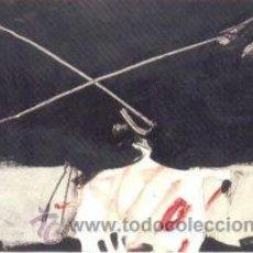 Arte: MANOLO MILLARES COMPOSICIÓN REPRODUCCIÓN OBRA IMPRESIÓN DIGITAL NUMERADA A LÁPIZ 114/300 * EL PASO *. Lote 26377384