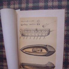 Arte: BARCOS - CROMOLITOGRAFÍA 1889 - BUQUES ACORAZADOS ESPAÑOLES - 22,5 X 15 CM. . Lote 23525910