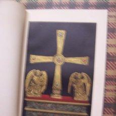 Arte: CROMOLITOGRAFÍA 1889 - CRUZ LLAMADA DE LOS ÁNGELES - 22.5 X 15 CM. Lote 23534510