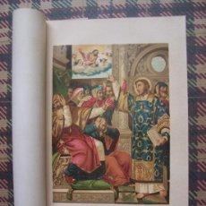 Arte: CROMOLITOGRAFÍA 1889 - SAN ESTEBAN ACUSADO DE BLASFEMO EN EL CONCILIO - 22.5 X 15 CM. Lote 23535268