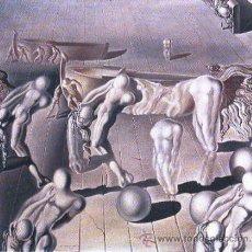 Arte: DALÍ DURMIENTE CABALLO LEÓN INVISIBLES REPRODUCCIÓN OBRA IMPRESIÓN DIGITAL NUMERADA LÁPIZ 199/300. Lote 26493920