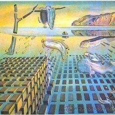 Arte: DALÍ / LA PERSISTENCIA DE LA MEMORIA REPRODUCCIÓN OBRA MPRESIÓN DIGITAL NUMERADA A LÁPIZ 280 / 500.. Lote 26803604