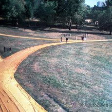 Arte: CHRISTO (1935-). WALK WAYS., KANSAS CITY. FIRMADA.. Lote 26907396