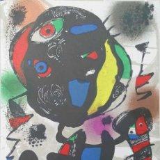 Art: JOAN MIRÓ / CROMOLITOGRAFÍA ORIGINAL V. REFERENCIADA CATÁLOGO JACQUES DUPIN ED. GALERÍA LELONG. Lote 29232397