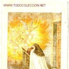 Arte: SANTA TERESA: CROMOGRAFÍA DEL SIGLO XIX.. Lote 31089286