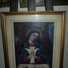 Arte: CROMOGRAFIA VIRGEN DE ALTAGRACIA. Lote 35214222