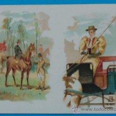 Arte: CROMOLITOGRAFÍA DE FINALES DEL SIGLO XIX. 8, 8 X 12,2 CM. Lote 35517404