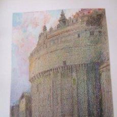 Arte: AVILA ABSIDE DELA CATEDRAL CROMOLITOGRAFIA 1925 VISTA ARTISTA INGLES G. EDWARDS. Lote 37174279