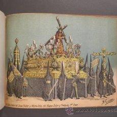 Arte: LAS COFRADIAS DE SEVILLA EN CROMO-LITOGRAFÍA. C.1880. Lote 39668241
