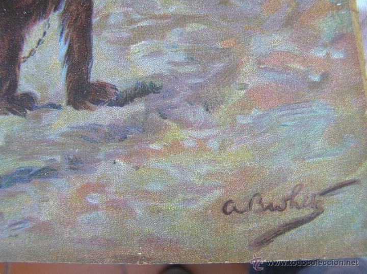 Arte: JUEGO DE CUADROS VICTORIANOS . S XIX . Láminas y marco firmados. - Foto 8 - 39995221