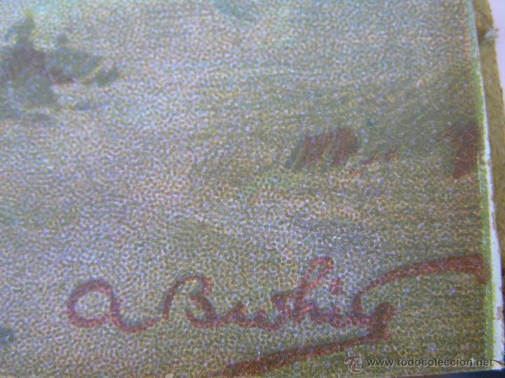 Arte: JUEGO DE CUADROS VICTORIANOS . S XIX . Láminas y marco firmados. - Foto 17 - 39995221
