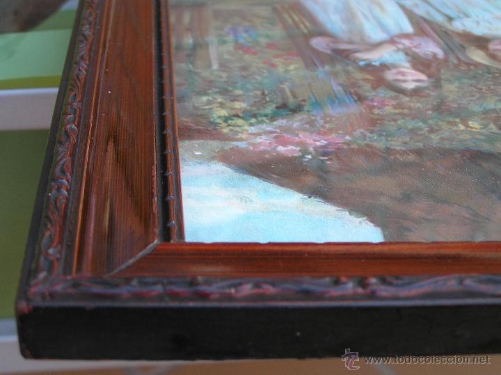 Arte: JUEGO DE CUADROS VICTORIANOS . S XIX . Láminas y marco firmados. - Foto 22 - 39995221