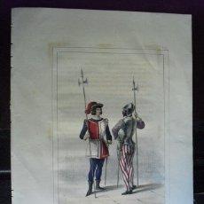 Arte: 1853 CROMOLITOGRAFIA PROCEDENTE DE LA HISTORIA ORGANICA DE LAS ARMAS DEL CONDE DE CLONARD. Lote 40404918