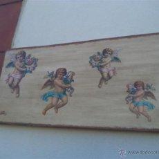Arte: 4 CROMAS EN LIENZO. Lote 42574753