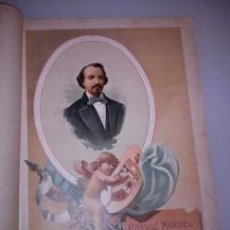 Arte: BELLA CROMOLITOGRAFÍA (C. 1890) - RETRATO DE CARLOS MANUEL DE CESPEDES - CUBA - 32X23. Lote 43921458