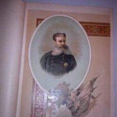 Arte: BELLA CROMOLITOGRAFÍA (C. 1890) - CARLISMO - RETRATO DE ANTONIO DORREGARAY - 32X23. Lote 43922655